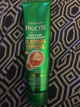 Photo of Garnier® Fructis® Sleek & Shine Brazilian Smooth Flatiron Express Leave-In Balm 5.1 fl. oz. Tube uploaded by Yesenia S.