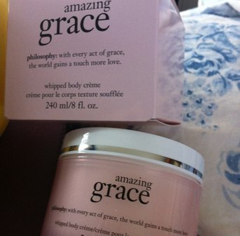 philosophy amazing grace whipped body creme uploaded by Shakeela P.