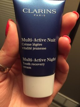 NEW Clarins Multi-Active Day & Night Creams uploaded by Carolina B.