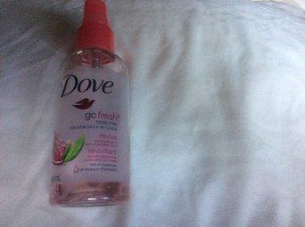 Dove Go Fresh Body Mist Rebalance Plum & Sakura Blossom Scent uploaded by Chandra O.