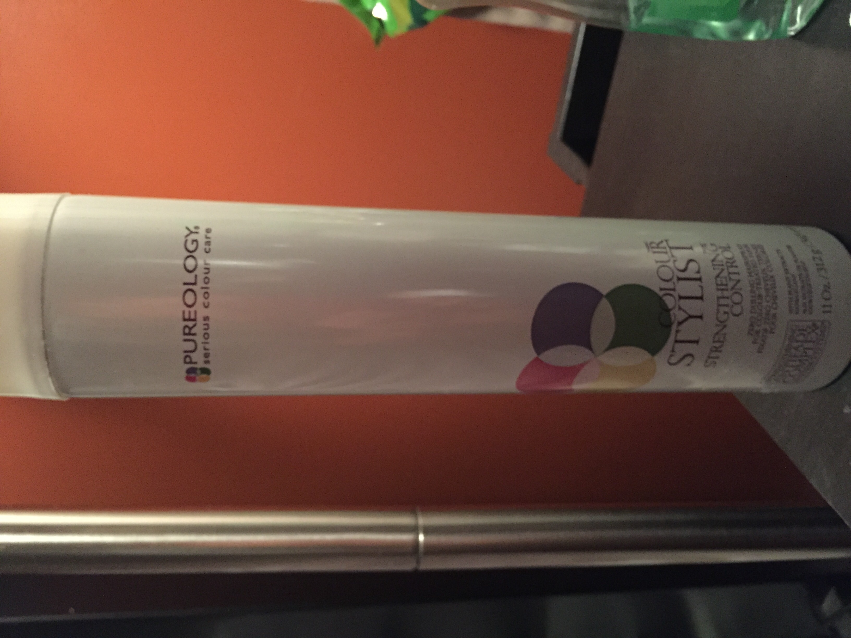 Pureology Colour Stylist™ Strengthening Control Hairspray uploaded by Zorimel V.
