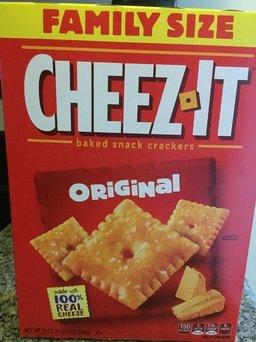 Photo of Cheez-It® Original Crackers uploaded by Lynze K.