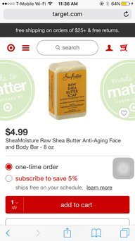 Shea Butter Soap uploaded by Alina B.