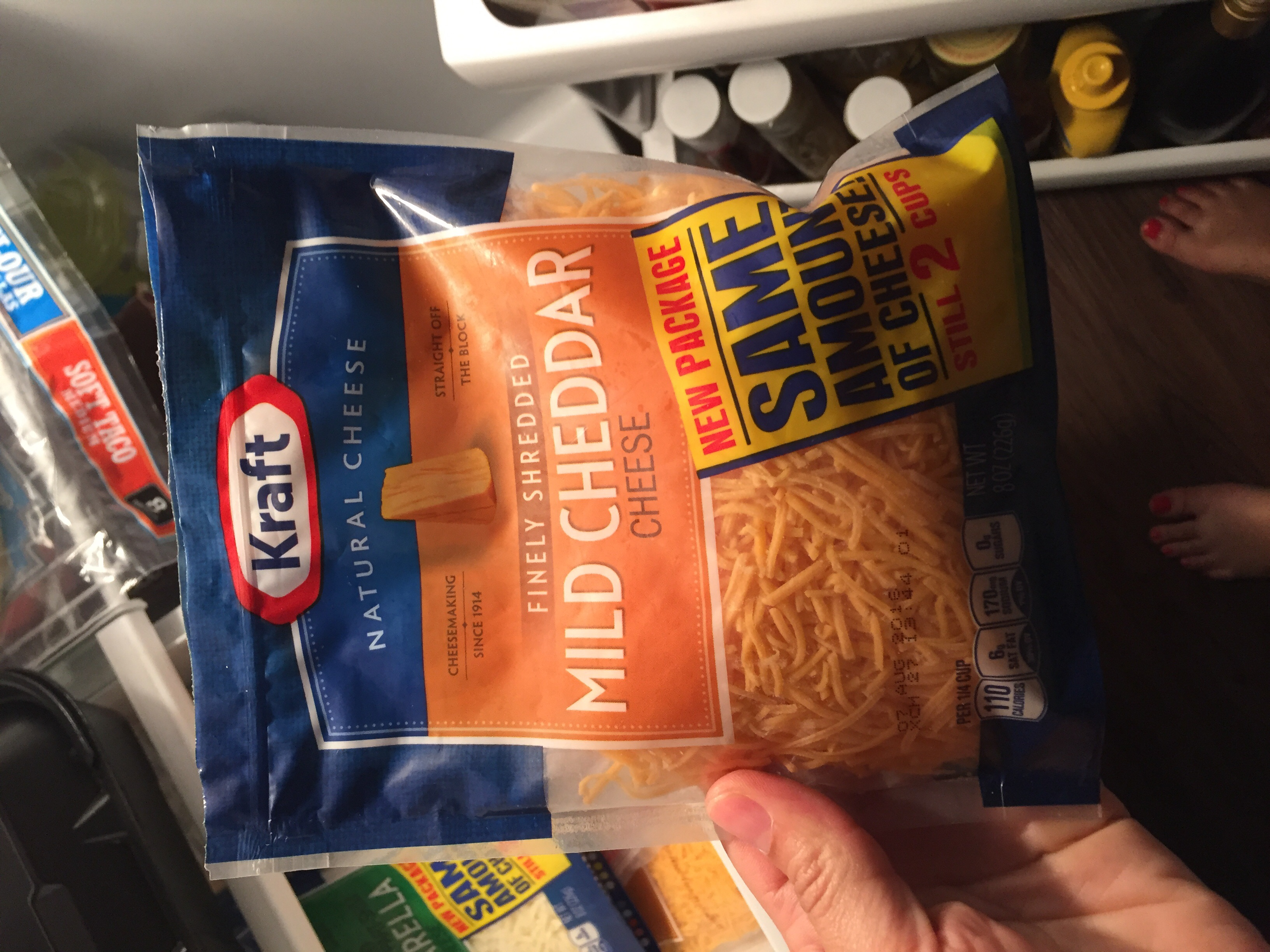 Kraft Colby & Monterey Jack Cheeses Finely Shredded uploaded by Lezlie C.