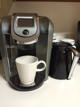 Keurig - 2.0 K550 4-cup Coffeemaker - Black/dark Gray uploaded by Nerline G.