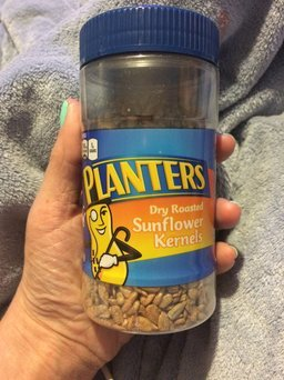 Planters Dry Roasted Sunflower Kernels Jar uploaded by Heather M.