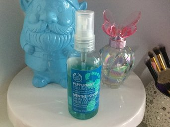 The Body Shop Peppermint Cooling Foot Spray uploaded by Christy K.
