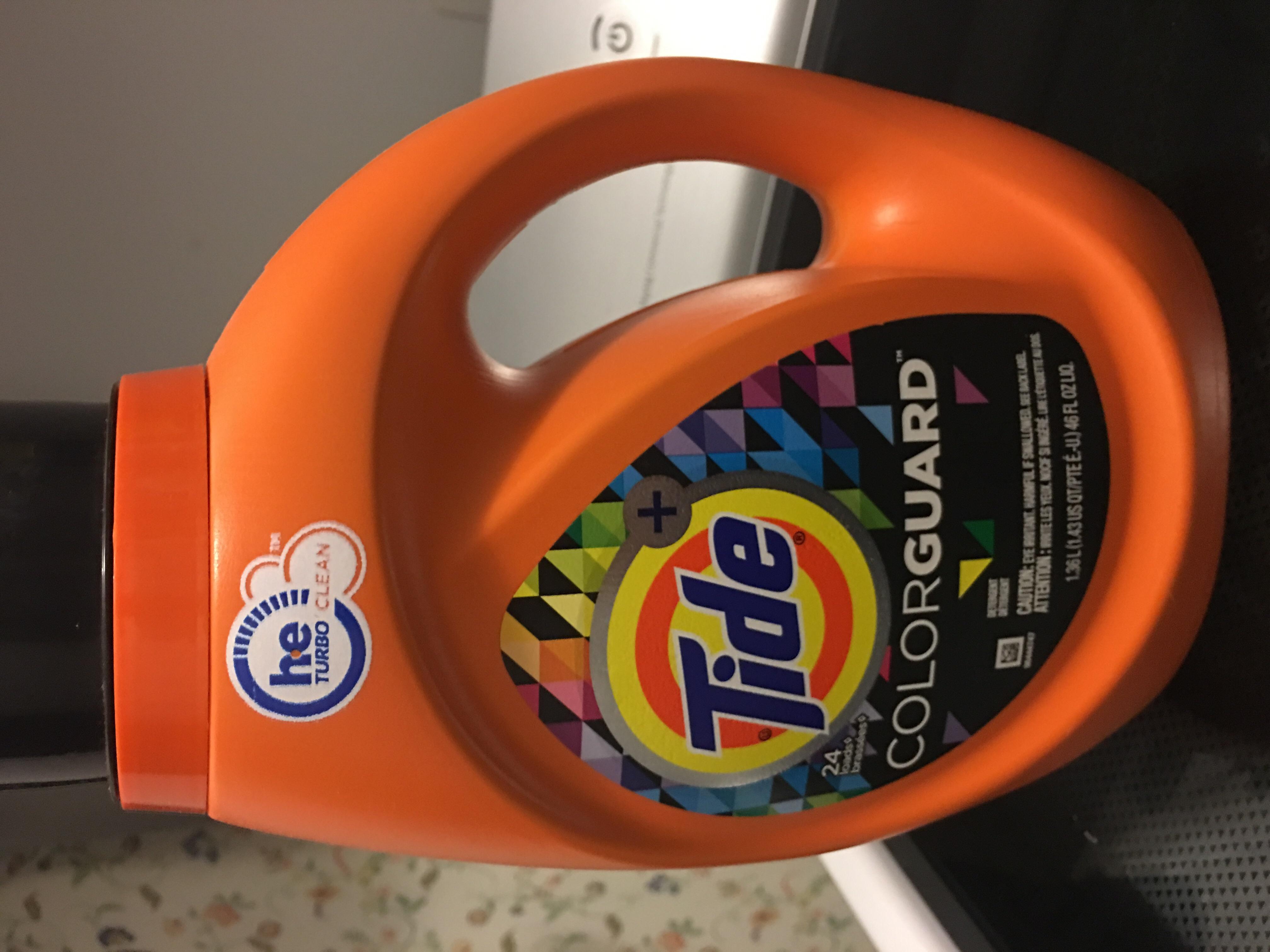 Tide Plus Colorguard Liquid Laundry Detergent uploaded by Elena K.