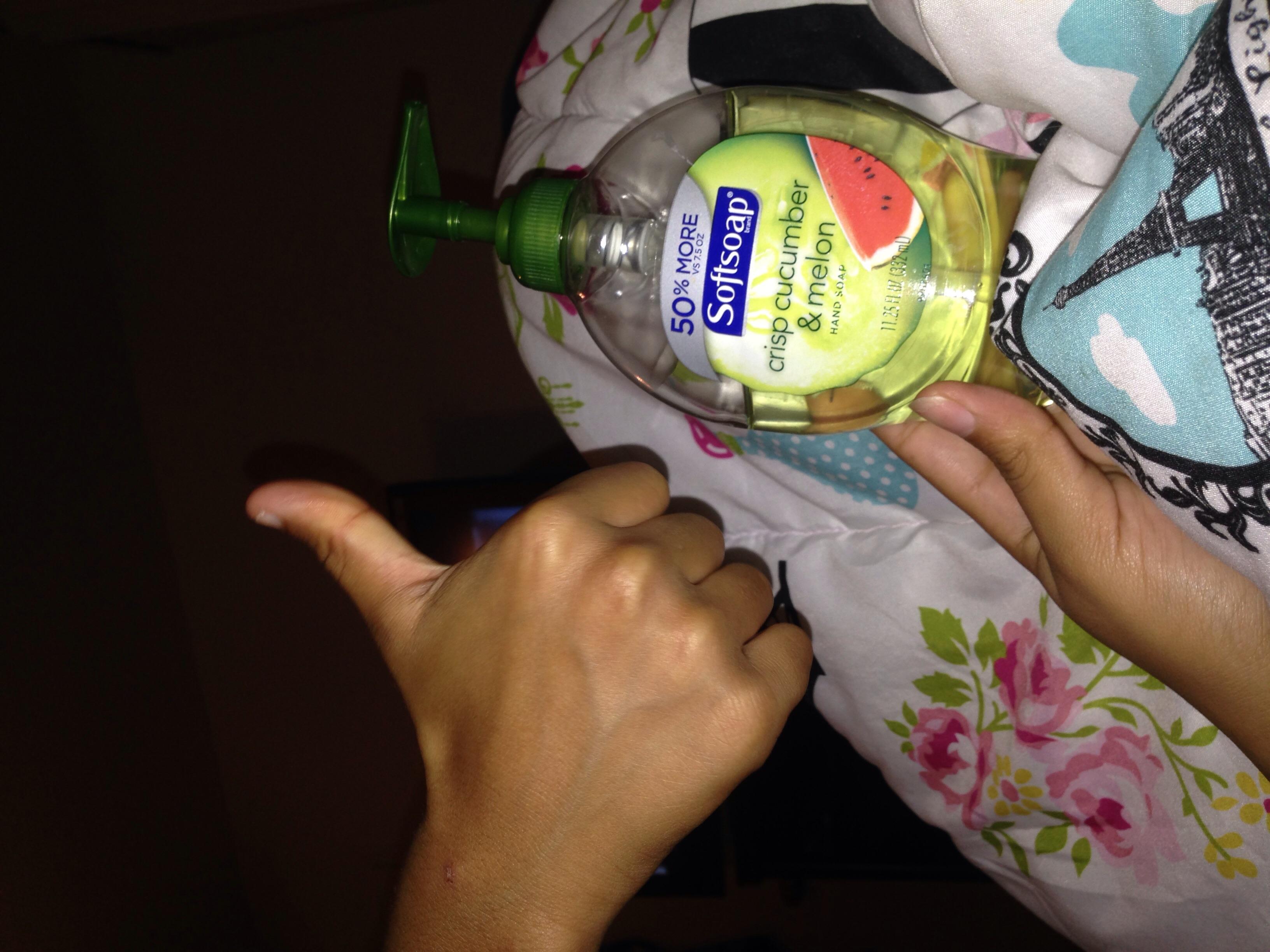 Photo of Softsoap® Crisp Cucumber & Melon Liquid Hand Soap uploaded by astrid c.