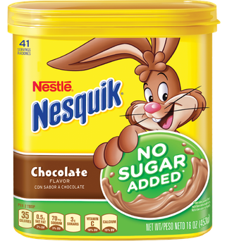 Nesquik Chocolate Powder, No Sugar Added, 16-Ounce Unit (Pack Of 6) uploaded by Moulay hicham I.