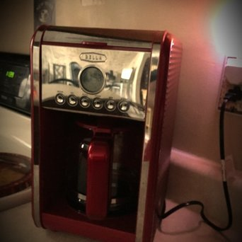 Bella Red Programmable Coffee Maker - 12 cup uploaded by Lisa H.
