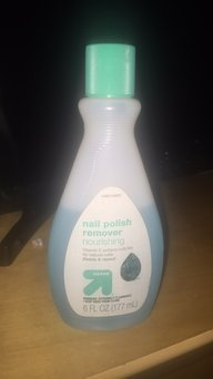 Up & up Regular Nourishing Nail Polish Remover uploaded by Keyla B.