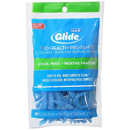 Oral-B Advantage Advantage Floss Pick Bag Cool Mint uploaded by Elena K.