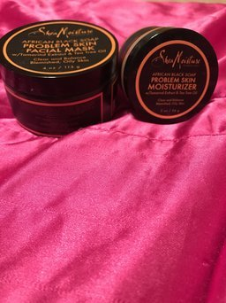 SheaMoisture African Black Soap Problem Skin Facial Mask uploaded by Shay C.