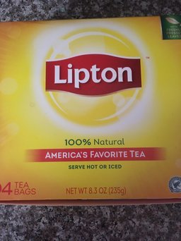 Lipton® Serve Hot or Iced Tea Bags uploaded by C S.