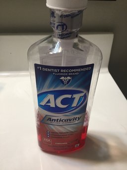 Act Anticavity Fluoride Mouthwash Cinnamon uploaded by Morgan H.