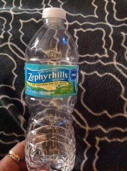 ZEPHYRHILLS Brand 100% Natural Spring Water, 16.9-ounce plastic bottles (Pack of 24) uploaded by Julie H.