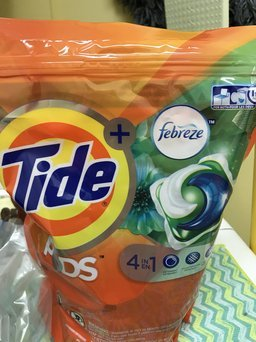 Photo of Tide PODS® Plus Febreze™ Laundry Detergent uploaded by Paige G.