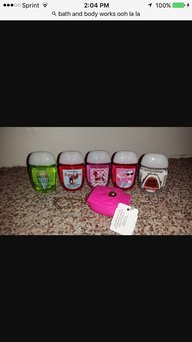 Bath & Body Works PocketBac Hand Sanitizer Gel Ooh La La French Blooms uploaded by Farah H.