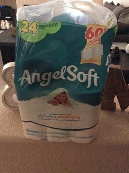 Angel Soft Classic White Bath Tissue uploaded by Marisela G.