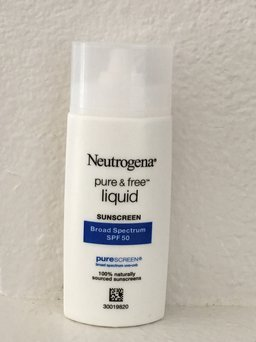 Neutrogena Pure & Free Liquid Daily Sunscreen uploaded by V Q.