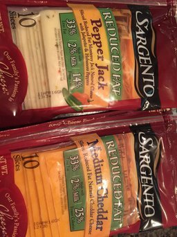 Sargento Reduced Fat Sharp Cheddar Shredded Cheese uploaded by Ellen C.