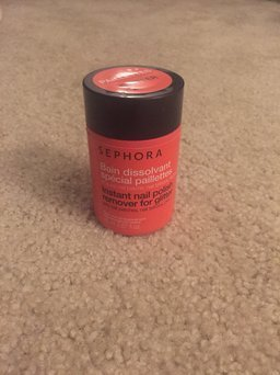 SEPHORA COLLECTION Instant Nail Polish Remover For Glitter uploaded by Joley W.