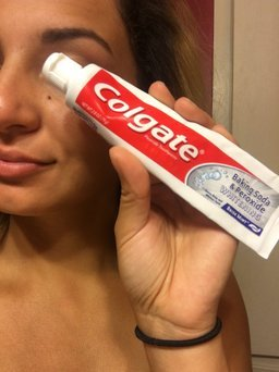Colgate Baking Soda and Peroxide Whitening Brisk Mint Toothpaste uploaded by Kassy M.