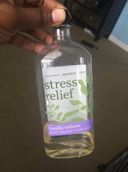 Photo of Bath & Body Works Bath & BodyWorks Stress Relief Body Wash: Travel Size uploaded by Taylor M.