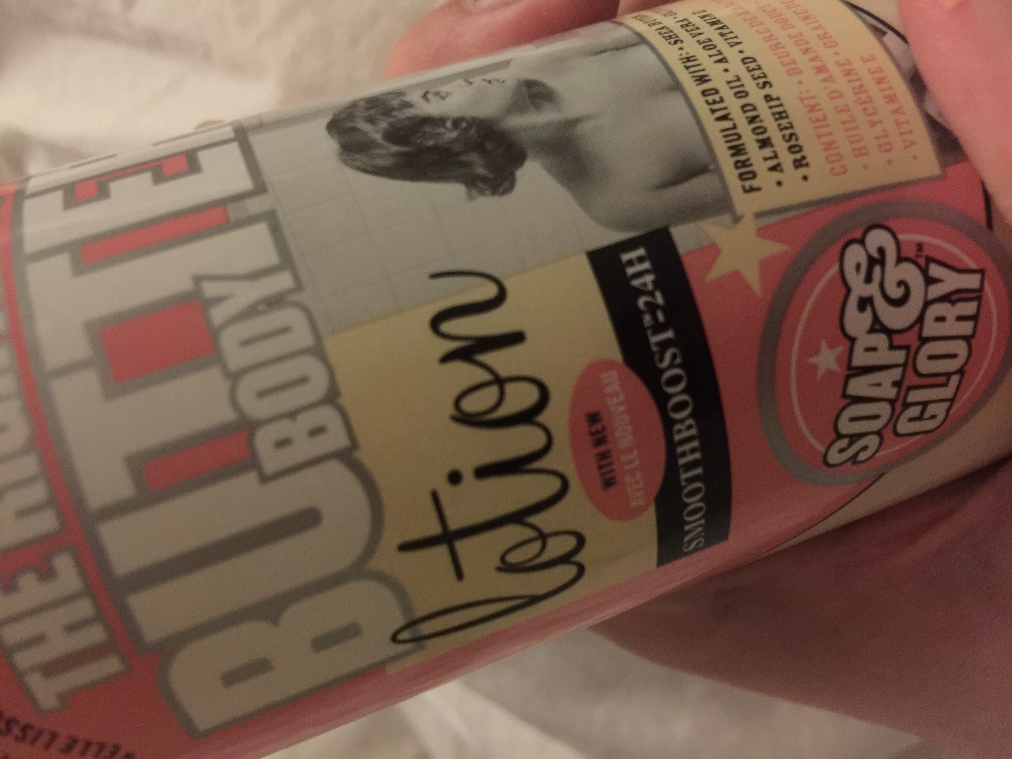 Soap & Glory The Daily Smooth Ultra Rich Body Lotion 500ML uploaded by Sabree S.