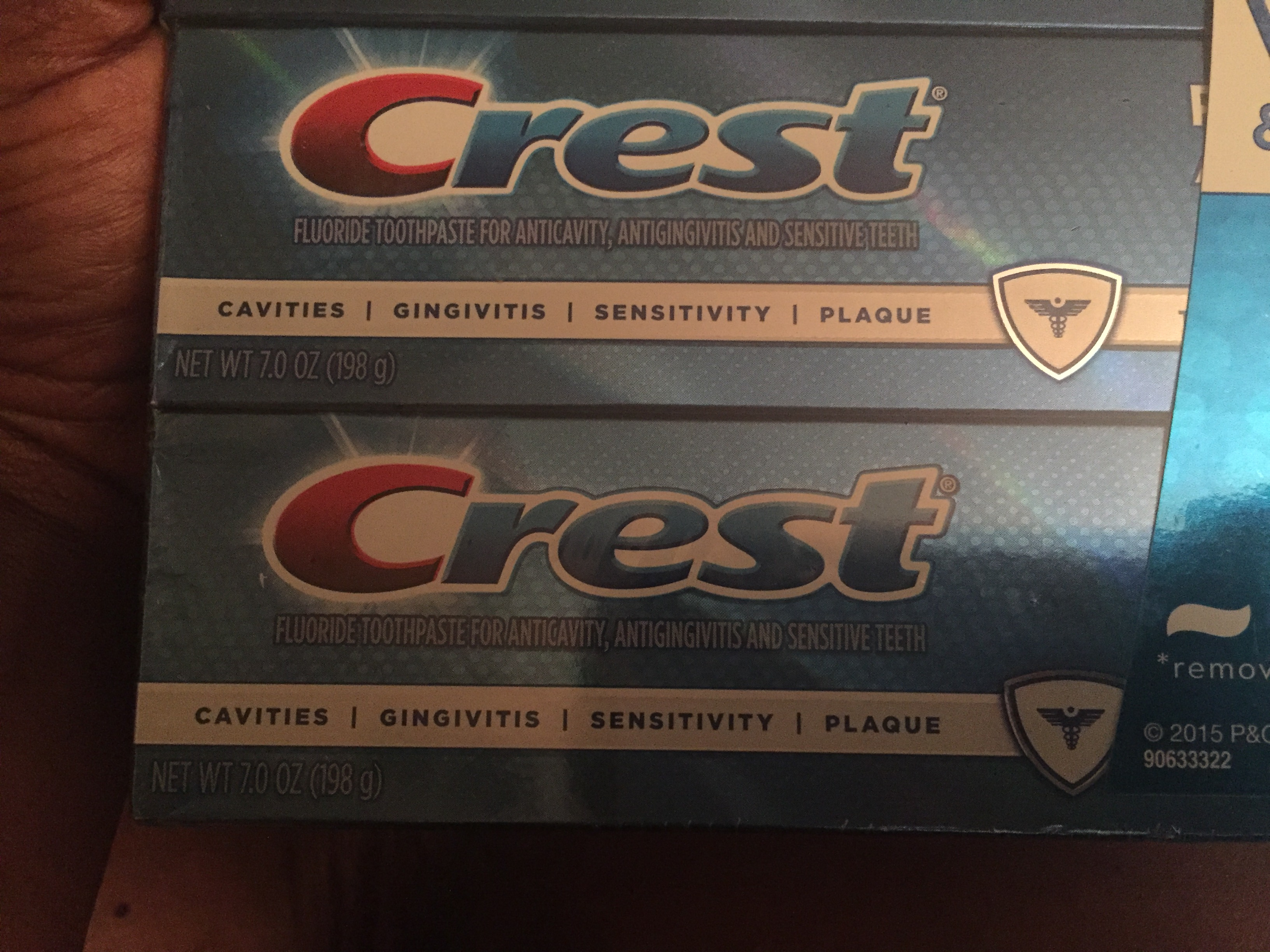 Crest Pro-Health Advanced Extra Deep Clean Gel Toothpaste uploaded by Abiola S.
