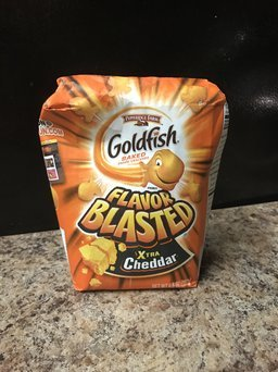 Goldfish® Flavor Blasted® Xtra Cheddar Baked Snack Crackers uploaded by Miranda F.