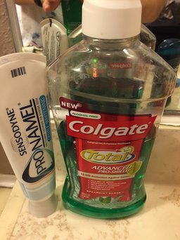 Colgate Total Advanced Pro-Shield Spearmint Surge Mouthwash uploaded by Krista G.