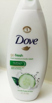 Dove Go Fresh Cool Moisture Cucumber & Green Tea Body Wash uploaded by Monika A.