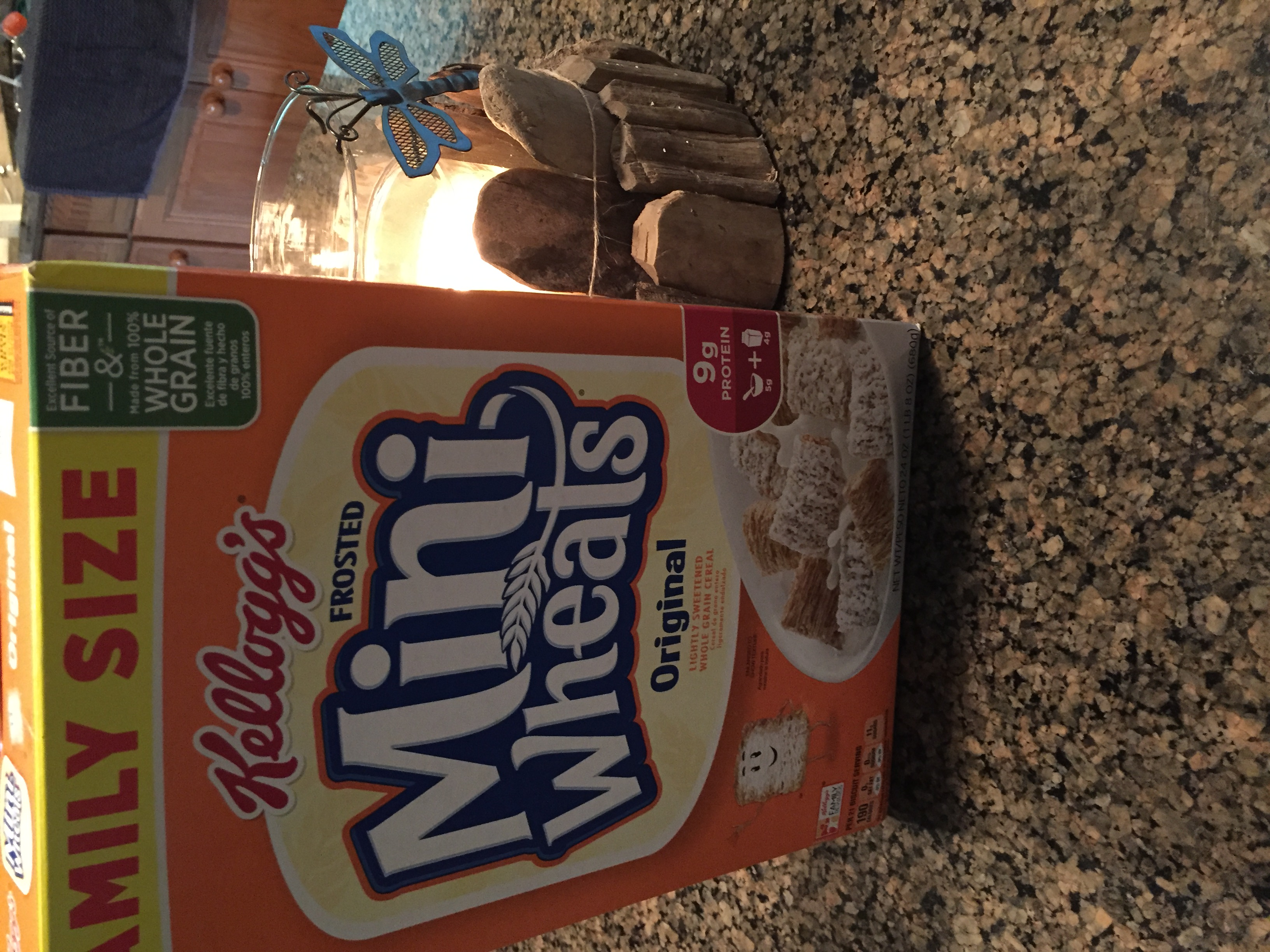 Photo of Frosted Mini-Wheats Cereal Original uploaded by Ellen C.