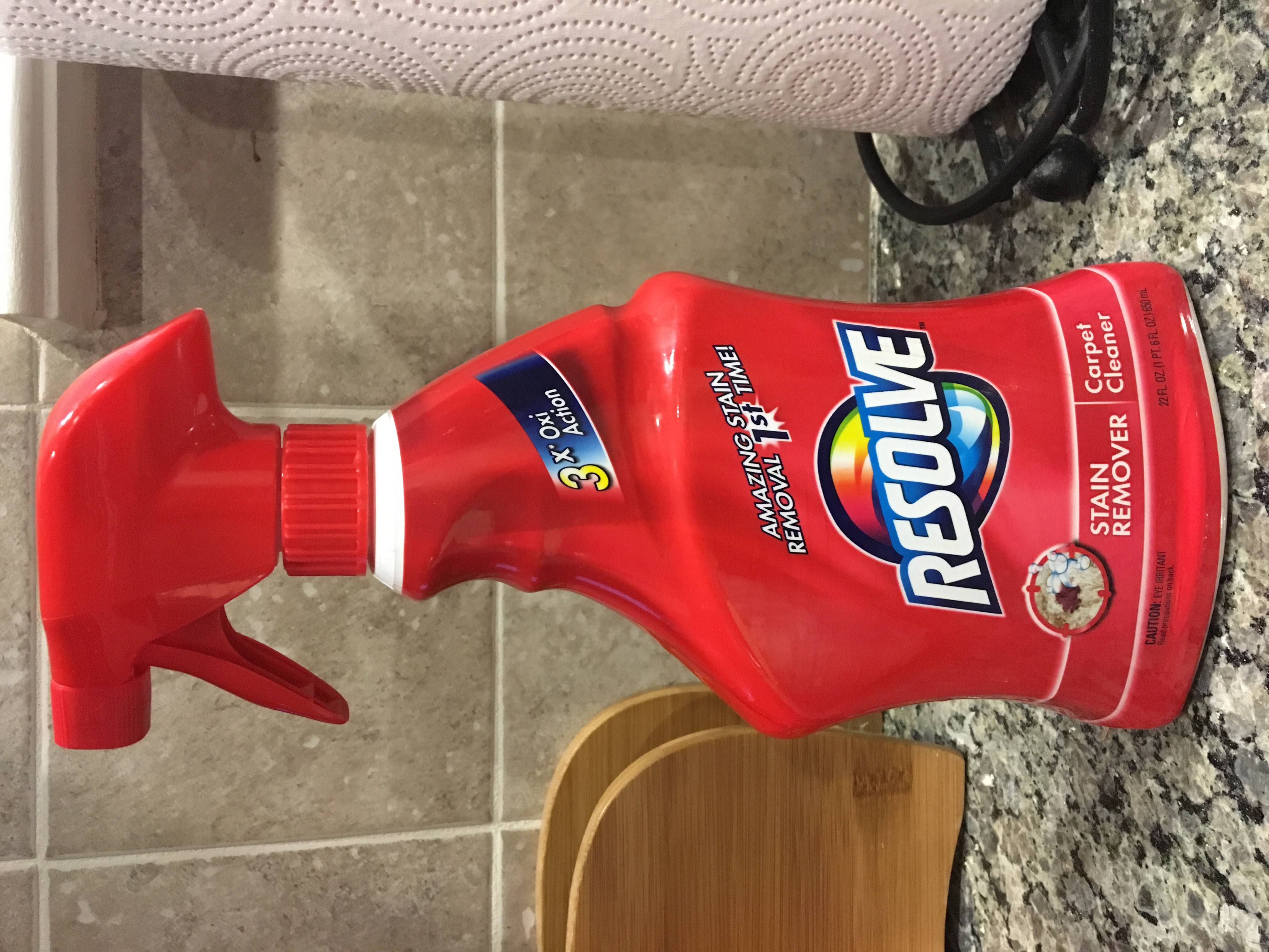Resolve Stain Remover Carpet Cleaner 22 oz uploaded by Stephanie S.