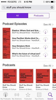 Photo of Apple Podcasts uploaded by Jaclyn T.