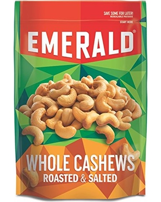 Photo of Emerald Roasted & Salted Whole Cashews, 5 oz, (Pack of 6) uploaded by Moulay hicham I.