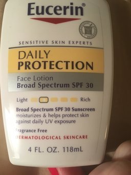 Photo of Eucerin Face Lotion and Sunscreen 30 SPF uploaded by Sally M.