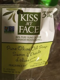 Kiss My Face Bar Soaps Pure Olive Oil Multi-Pack uploaded by Lydia I.