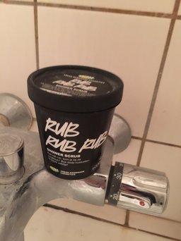 LUSH Rub Rub Rub Shower Scrub uploaded by Rinat C.