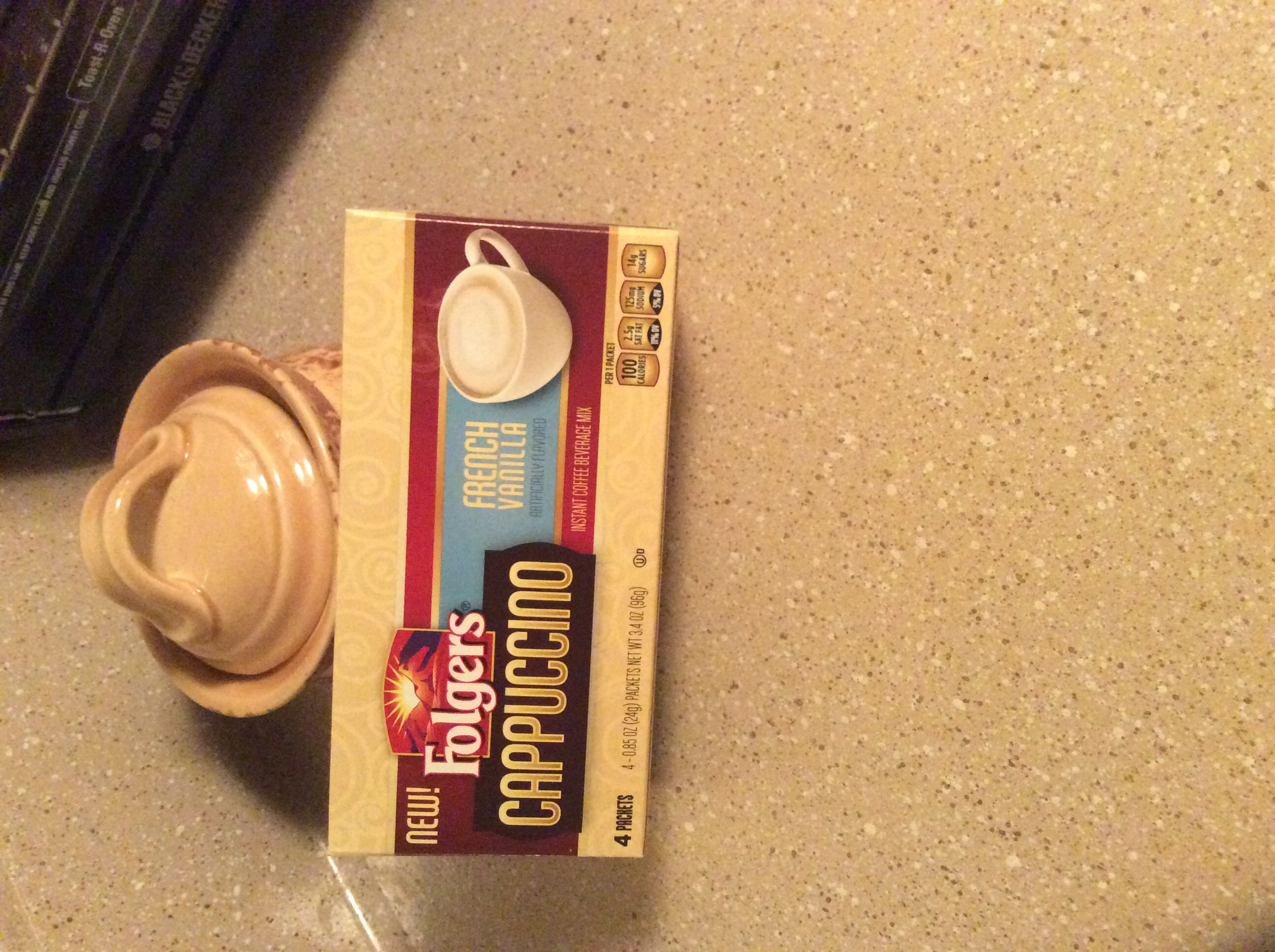 Folgers® Cappuccino French Vanilla Instant Coffee Beverage uploaded by Camille S.