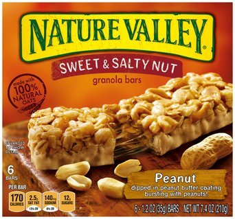 Nature Valley Sweet & Salty Nut Granola Bars Peanut uploaded by Maria F.