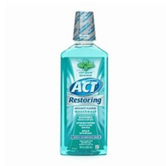 ACT: ACT Restoring Mouthwash Cool Splash Spearmint 33 oz uploaded by Joselyn S.