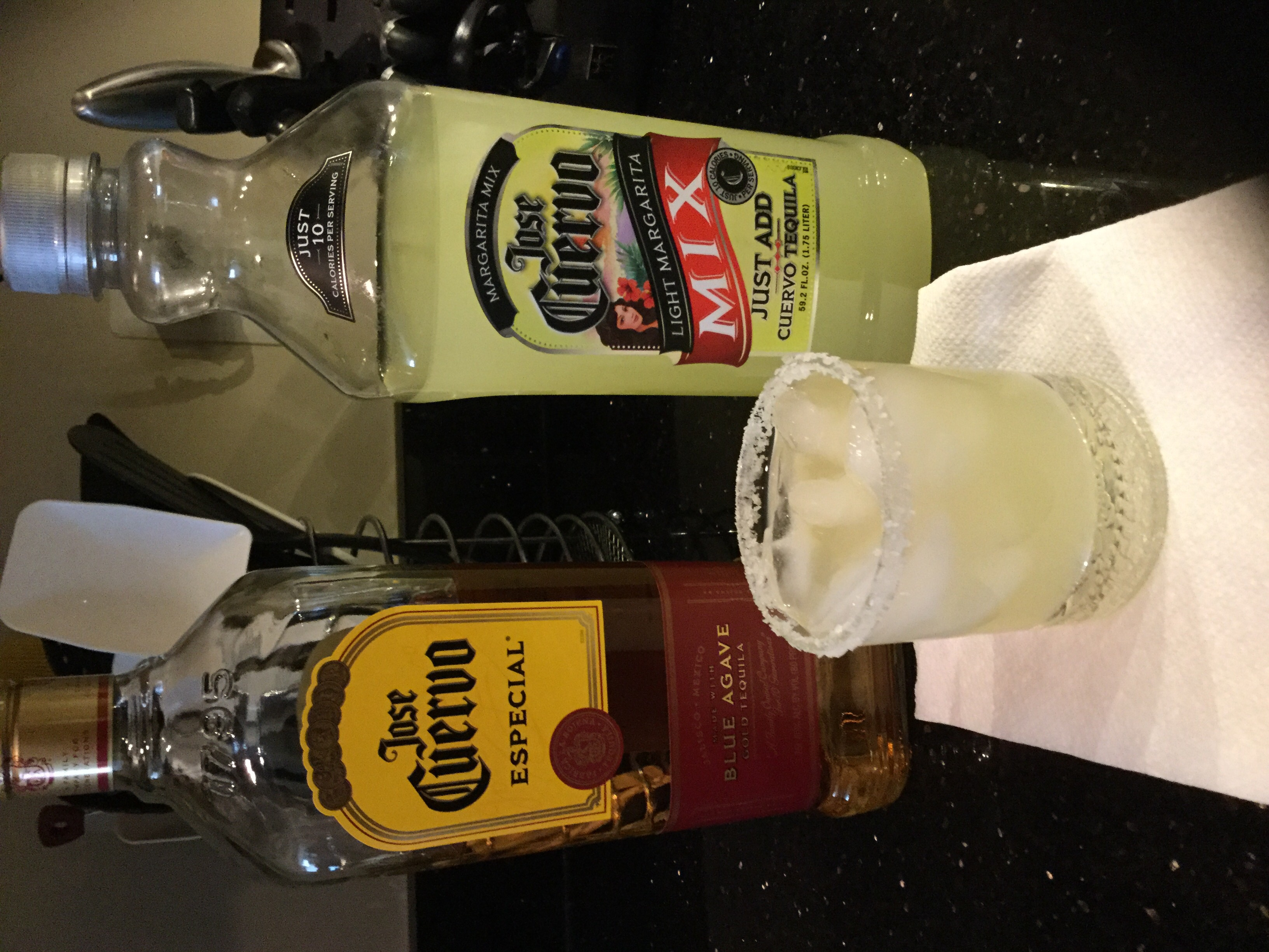 Photo of Jose Cuervo Classic Lime Light Margarita Mix, 59.2 fl oz (Pack of 6) uploaded by Alyson K.
