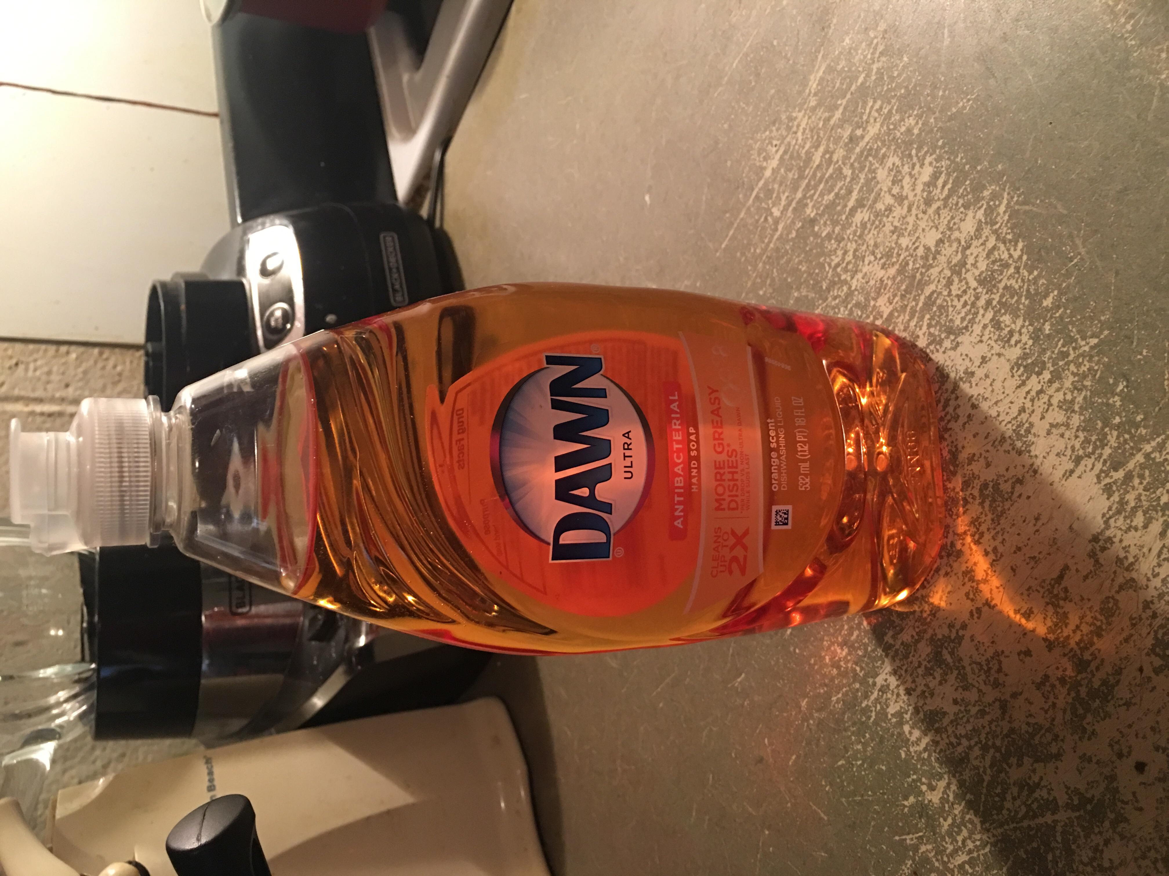 Dawn Ultra Dishwashing Liquid (21.6 Oz (Single Pack), Orange Scent) uploaded by Jamille D.