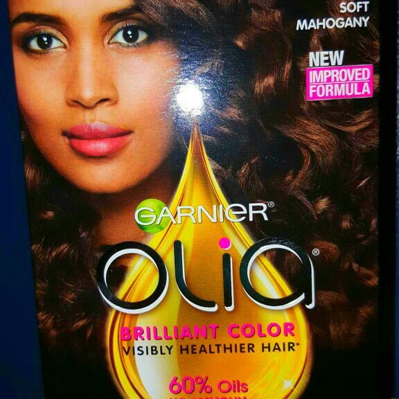 Photo of Garnier® Olia® Oil Powered Permanent Hair Color uploaded by Andrea L.