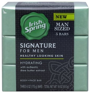 Irish Spring Signature for Men Hydrating Bar Soap with Shea Butter Extract uploaded by Jane S.