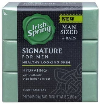 Irish Spring Signature for Men Hydrating Bar Soap uploaded by Jane S.