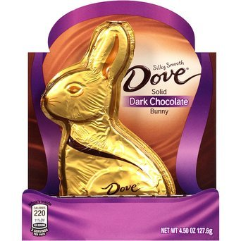 Dove Chocolate Silky Smooth Solid Milk Chocolate Bunny uploaded by Aby Pocahonta H.